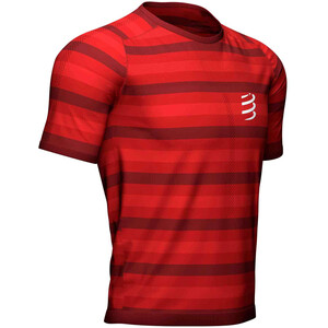 Compressport Performance Camiseta Manga Corta, rojo rojo