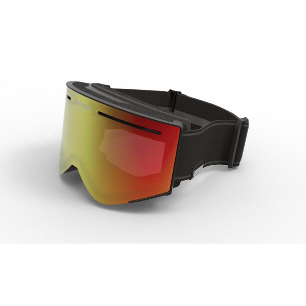 Spektrum G007 Helags Goggles black/brown revo mirror red