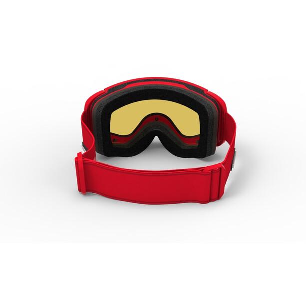 Spektrum Skutan Goggles classic red/brown revo mirror red