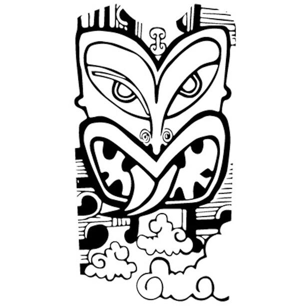 DYEDBRO Aotearoa Rammebeskyttelsessæt, gennemsigtig/sort