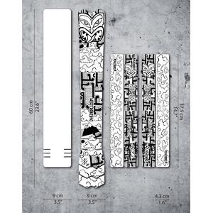 DYEDBRO Aotearoa Rahmenschutz Kit transparent/schwarz transparent/schwarz