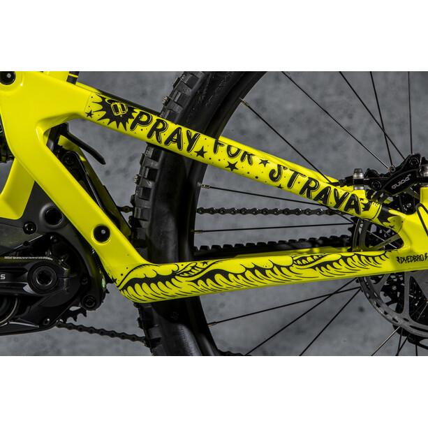 DYEDBRO Pray for Straya Frame Protection Kit, black