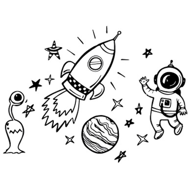 DYEDBRO Space Trip Rahmenschutz Kit black
