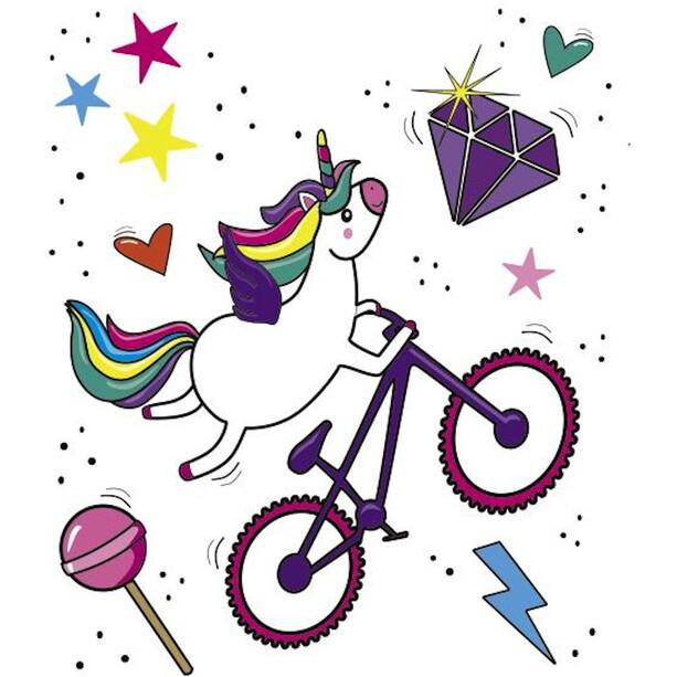 DYEDBRO Unicorn Glitter Rammebeskyttelsessæt