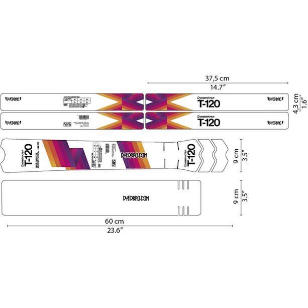 DYEDBRO Video Tape Rahmenschutz Kit
