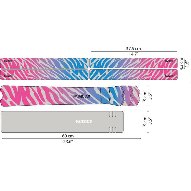 DYEDBRO Zebra Retro Rahmenschutz Kit