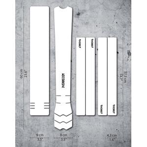 DYEDBRO Rungon suojateippisarja, läpinäkyvä läpinäkyvä