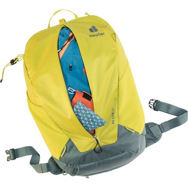 deuter AC Lite 17 Rucksack gelb/grau