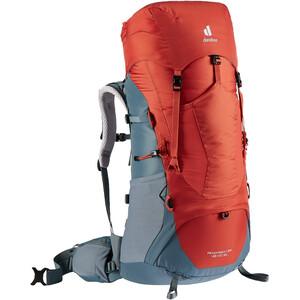 deuter Aircontact Lite 45 + 10 SL Backpack Women, rouge/gris rouge/gris