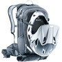deuter Compact EXP 14 Rucksack grau/schwarz