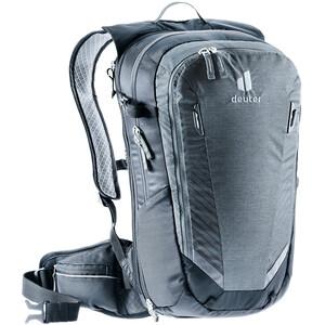 deuter Compact EXP 14 Backpack, harmaa/musta harmaa/musta