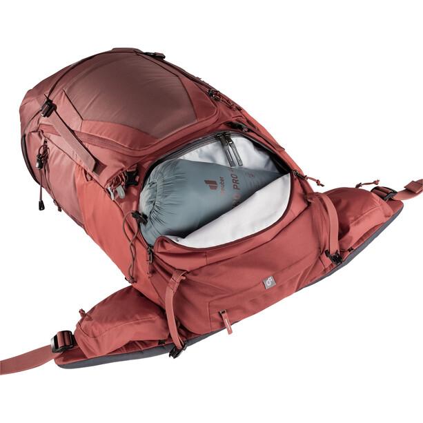 deuter Futura Air Trek 55 + 10 SL Rucksack Damen rot