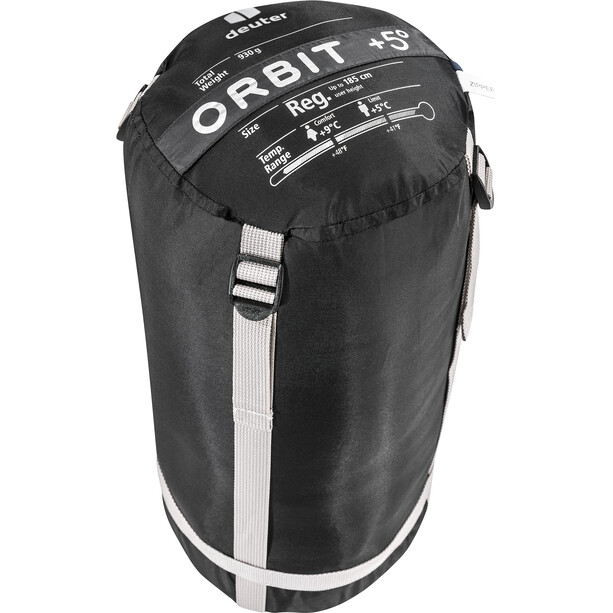 deuter Orbit +5° Schlafsack Regular granite/steel