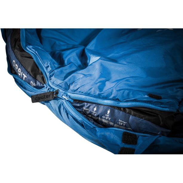 deuter Orbit 0° Schlafsack Lang blau