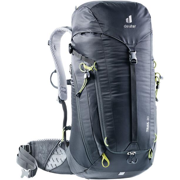 deuter Trail 30 Rucksack schwarz