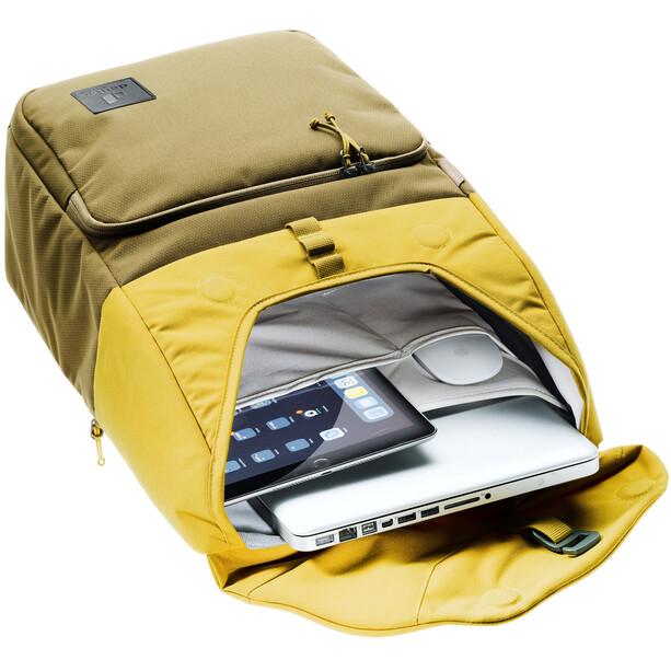 deuter UP Sydney Backpack 22l, olive/jaune