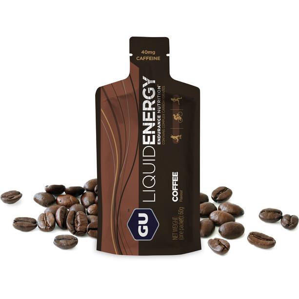 GU Energy Flydende energigel 12 x 60 g, Coffee