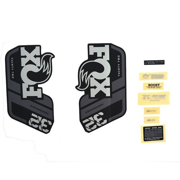 Fox Racing Shox Decal Kit 32 P-S braun/schwarz