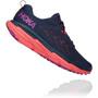 Hoka One One Challenger ATR 6 Running Shoes Women black iris/hot coral