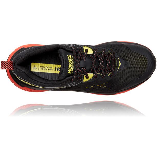 Hoka One One Challenger ATR 6 GTX Running Shoes Men black/green sheen