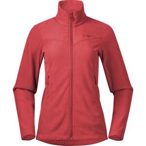 Bergans Finnsnes Fleece Jacket Women röd röd