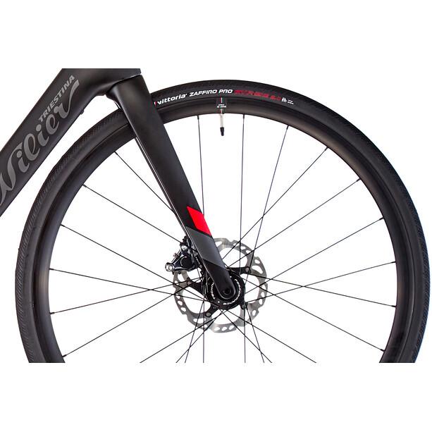 Wilier Cento1 Hybrid Ultegra schwarz/rot