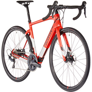 Wilier Cento1 Hybrid Ultegra, punainen/hopea punainen/hopea