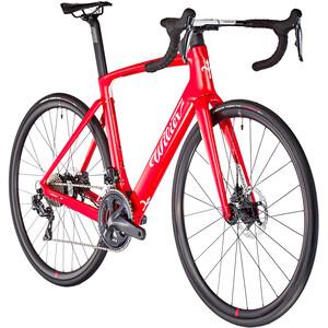 Wilier Cento10 Hybrid Ultegra Di2, punainen punainen