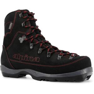Alpina Footwear Wyoming sko rød/Svart rød/Svart