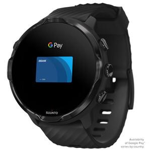 Suunto 7 Sport Watch, noir noir