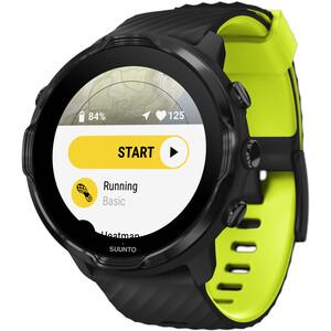 Suunto 7 Sportuhr schwarz/gelb schwarz/gelb