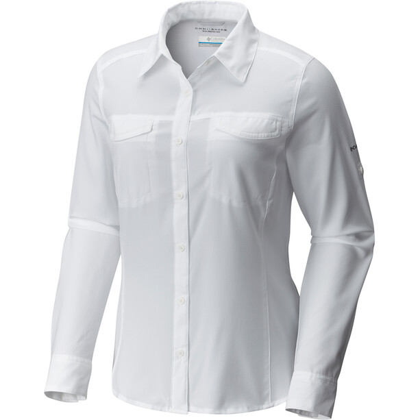 Columbia Silver Ridge Lite Langarmhemd Damen weiß