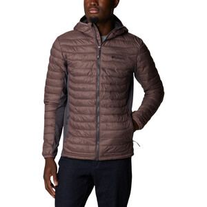 Columbia Powder Pass Kapuzenjacke Herren basalt/timber basalt/timber