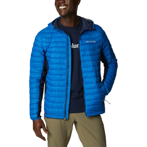 Columbia Powder Pass Kapuzenjacke Herren bright indigo/collegiate navy bright indigo/collegiate navy