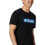 Columbia Rapid Ridge Graphic T-Shirt Herren schwarz/blau