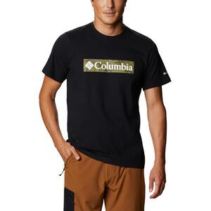 Columbia Rapid Ridge Graphic T-Shirt Herren black csc framed black csc framed
