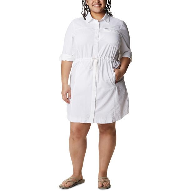 Columbia Silver Ridge Novelty Kleid Damen white