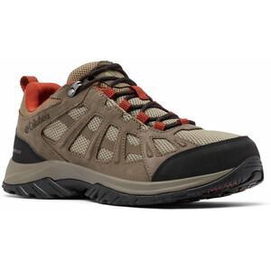 Columbia Redmond III Waterproof Shoes Men, marron/rouge marron/rouge