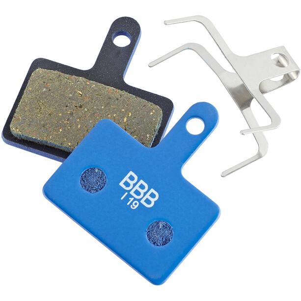 BBB DiscStop BBS-53T Skivebremseklodser Deore BR-M525, blå