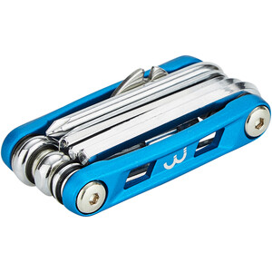 BBB PrimeFold BTL-48 Toolkit M, blue/silver blue/silver