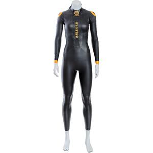 deboer Ocean 1.0 Wetsuit Women, noir noir