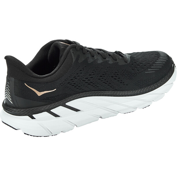 Hoka One One Clifton 7 Running Shoes Women black/bronze
