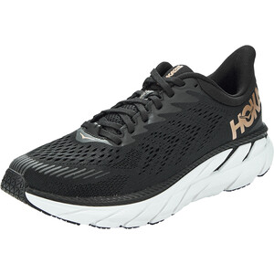 Hoka One One Clifton 7 Running Shoes Women black/bronze black/bronze