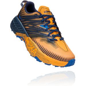 Hoka One One Speedgoat 4 Running Shoes Men saffron/black iris saffron/black iris