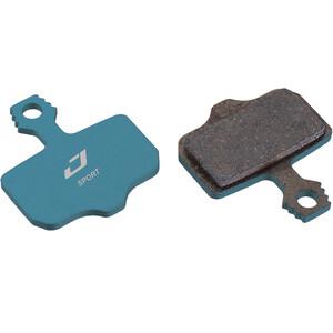 Jagwire Sport ディスクブレーキパッド SRAM Level TL/T/DB/Avid/Mag/1/3/5/7/9/X0/XX 25 Pairs ブルー