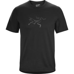 Arc'teryx Cormac Logo Short Sleeve Shirt Men black black