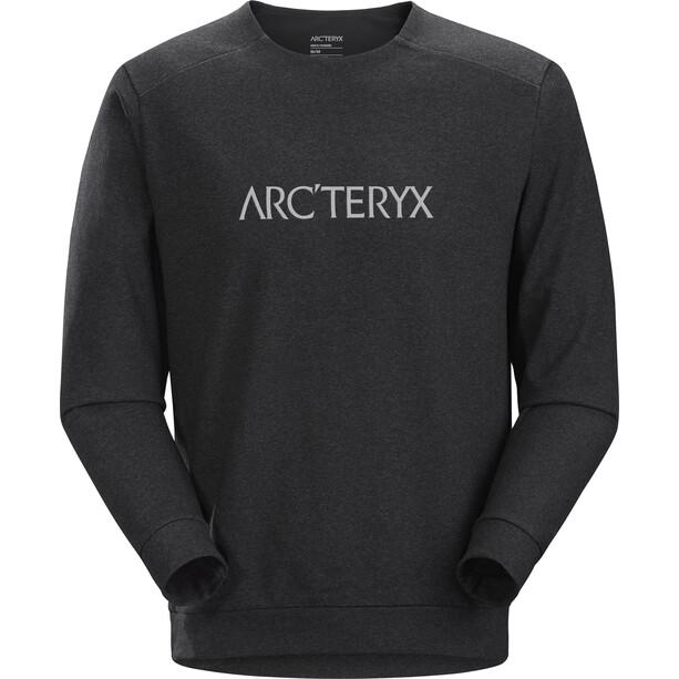 Arc'teryx Mentum Centre Pullover Men black heather
