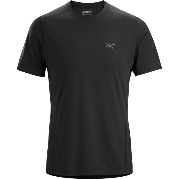 Arc'teryx Motus SL Crew Short Sleeve Shirt Men black