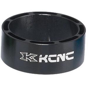 """KCNC Hollow Design Steuersatz Spacer 1 1/8"""" 20mm schwarz schwarz"""