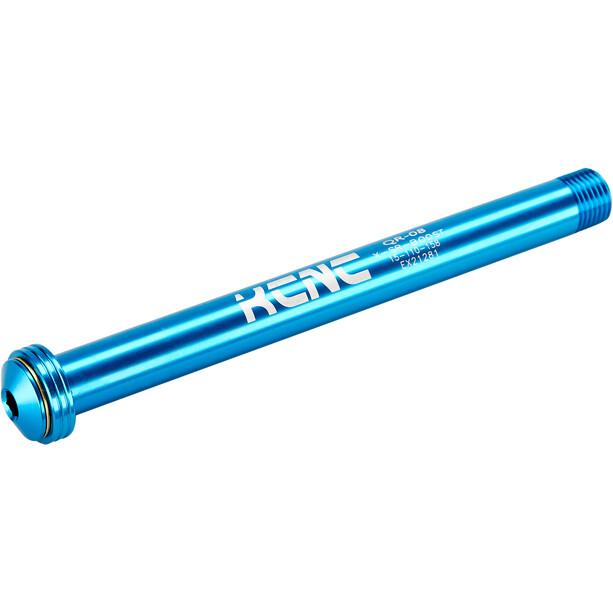 KCNC KQR08-SR Steckachse 15x110mm RS Maxle blau